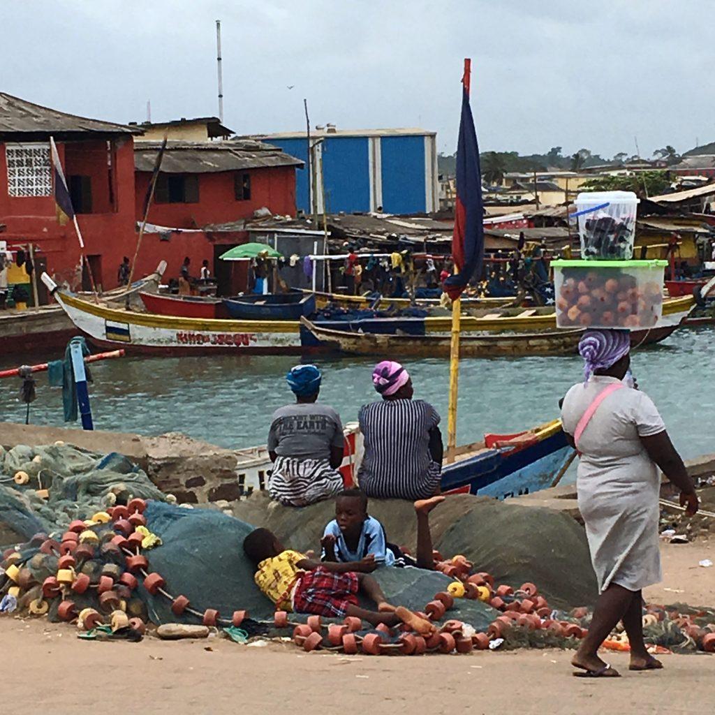 Puerto de Elmina, Ghana