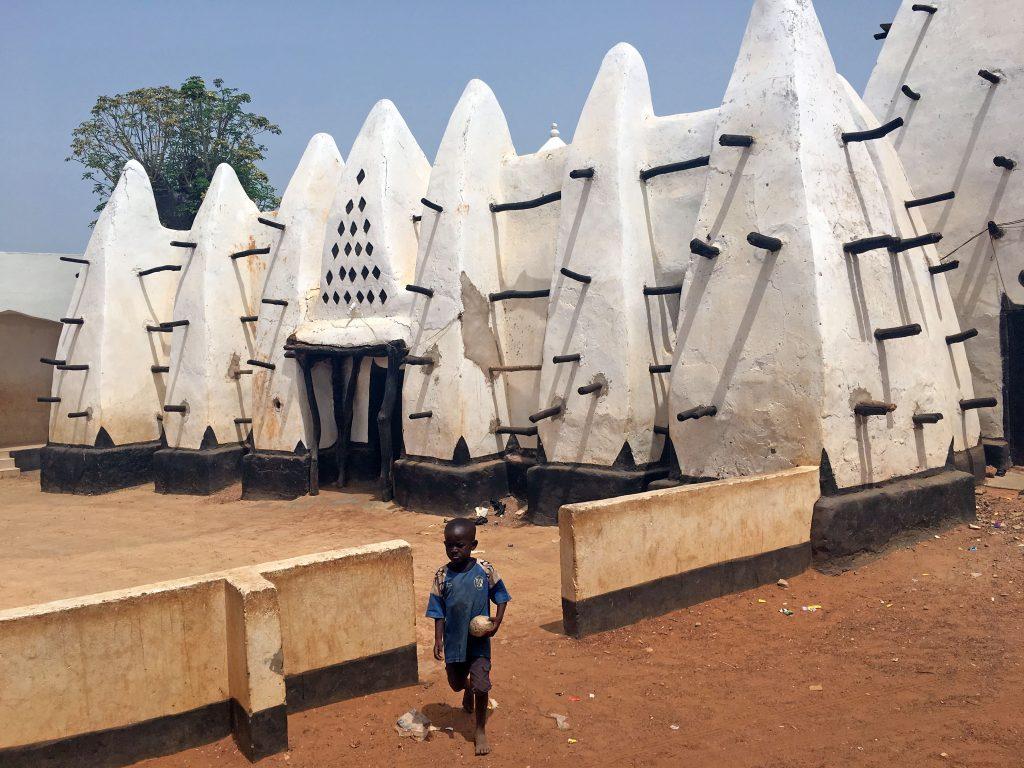 Mezquita de Larabanga, Larabanga, Ghana