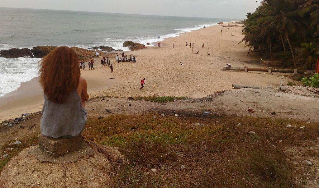 Playa de Cape Coast, Ghana