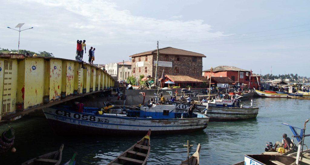 Puente de Elmina, Ghana