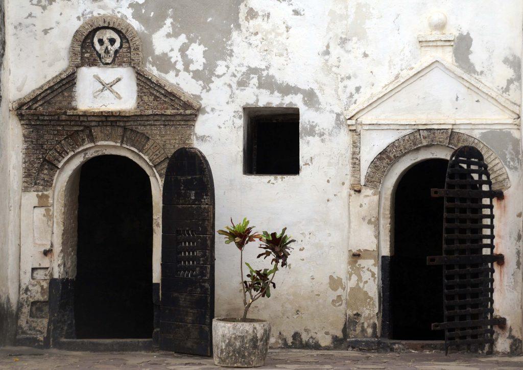 Calabozos del Castillo de San Jorge, Elmina, Ghana