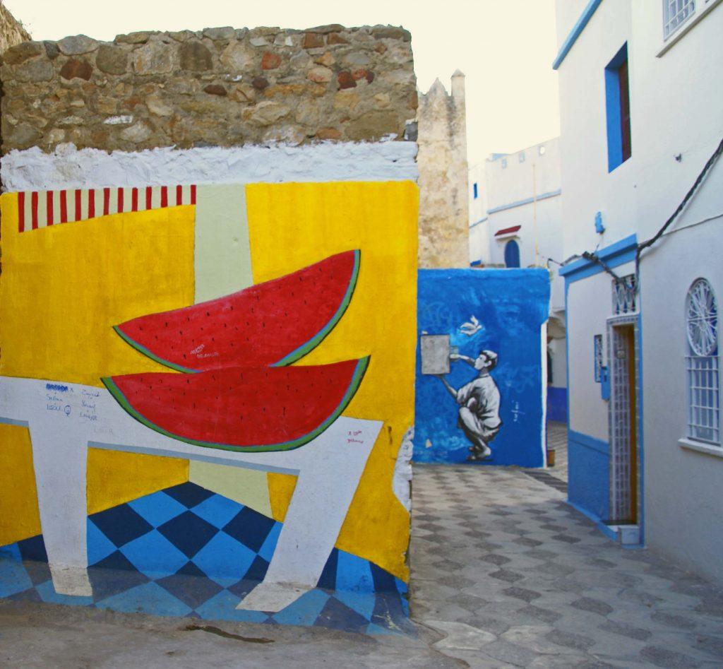 Murales en la Medina de Ashila