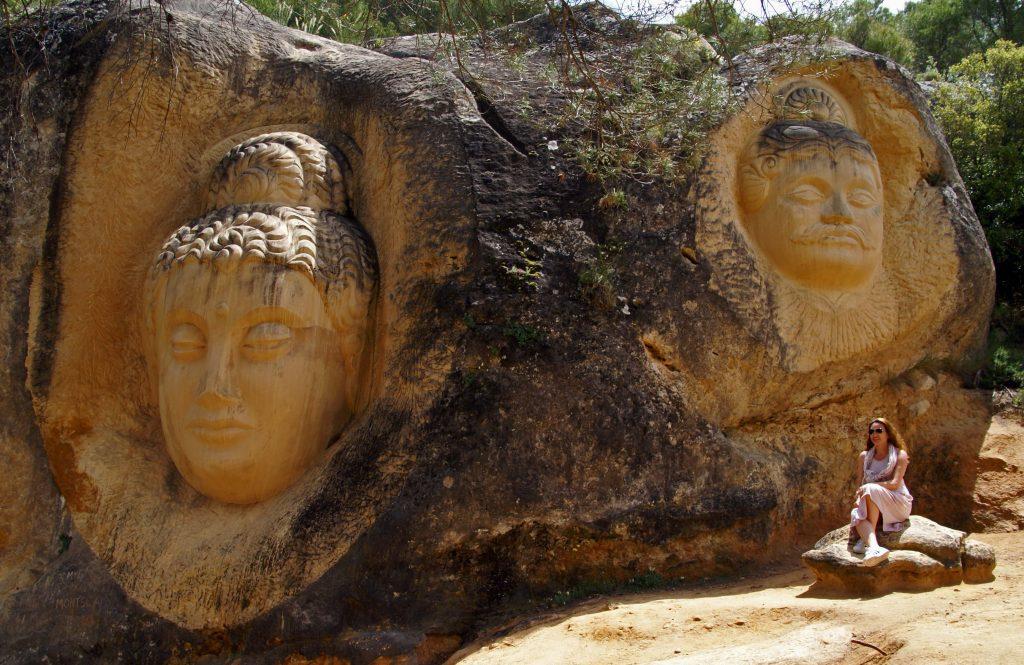 Maytreya y Arjuna, ruta de las Caras de Buendía, Cuenca