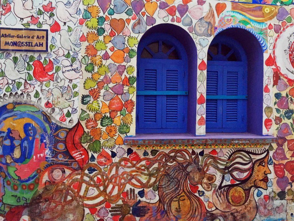 Galería de arte, Medina de Ashila, Marruecos