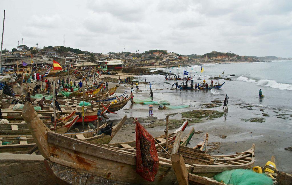 Playa de Cape Coast, Cape Coast, Ghana