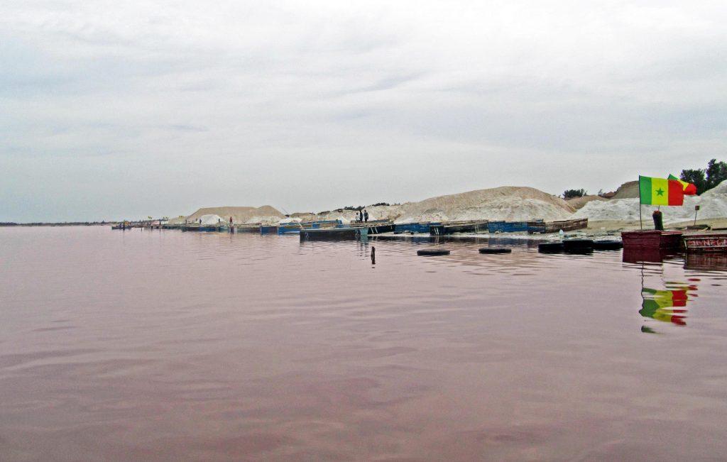 Lago Rosa, Senegal