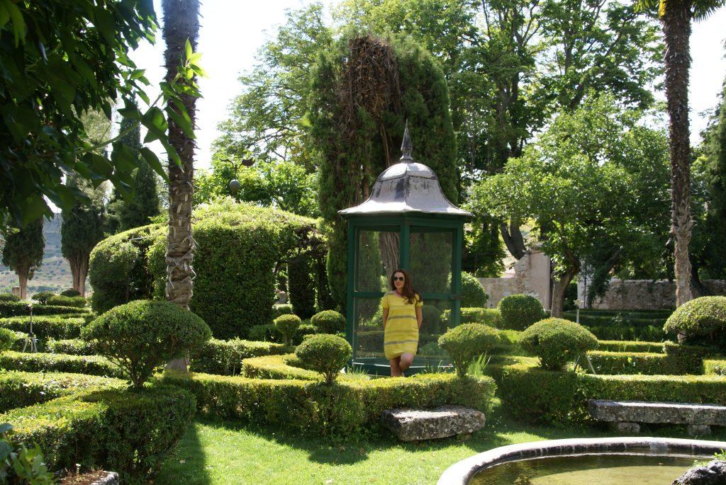 Jardínes de la Real Fábrica de Paños, Brihuega, Guadalajara