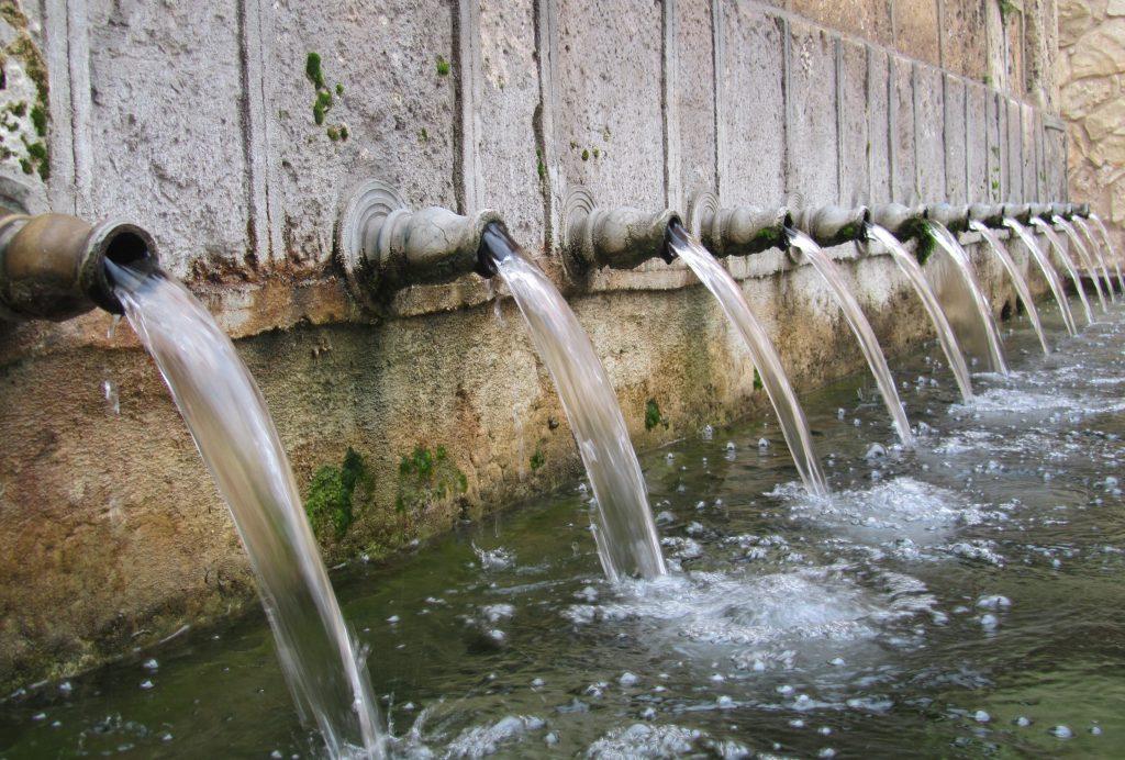 Fuente de los Doce Caños, Brihuega, Guadalajara