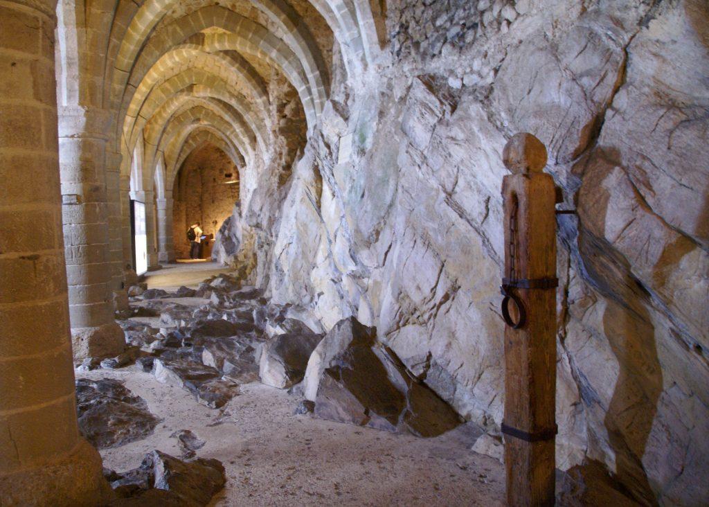 Prisión de Bonivard, castillo de Chillon, Lago Lemán