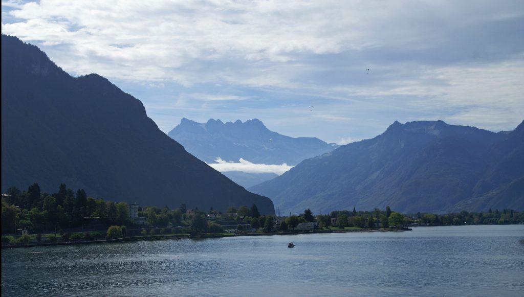 Lago Lemán, Castillo Chillón, Montreaux