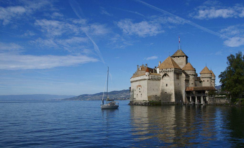 Montreaux, Castillo de Chillon, Lago Leman