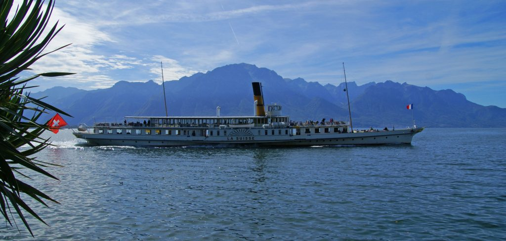 Crucero por el lago Lemán