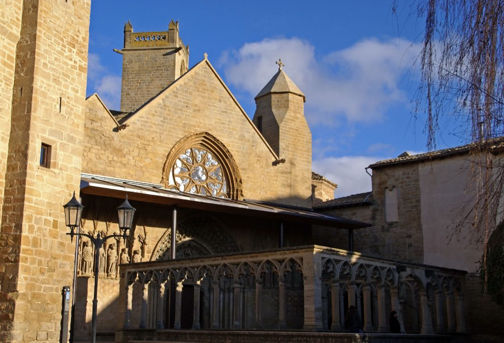 Iglesia de Santa Maria, Olite, Navarra
